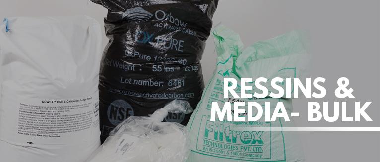 Resins & Media