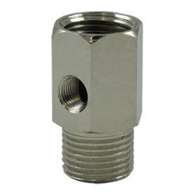 "CPC Feed Water Adapter - Lead Free 1/2""MPT x 1/2""FPT x 1/4""FP"
