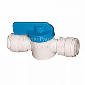 Sea Tech 1/4 Stop Valve - Polypropylene