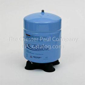 "Amtrol RO Storage Tank - RO-4 Bumps Blue 4.4 Gallon Tank Volume - 1/4"" MPT"
