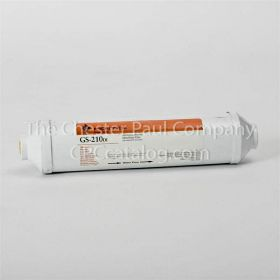 "Pentair (255561-43) Bacteriostatic KDF & Coconut Shell Carbon GS-210EXTRA1-G-1/4"" John Guest 2-1/2"" x 11"" Filter"