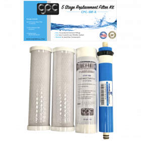 5 Stage Replacement Filter Kit