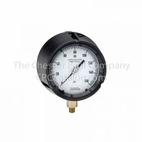 "Noshok 2-1/2"" Dial Bottom Connection Gauge 0-300 PSI"