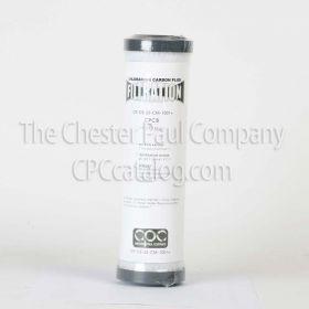 "CPC 2-1/2 x 9.8"" Chloramine Carbon Block - 1 Micron"