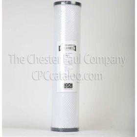 CPC 4.5 x 20 Chloramine Carbon Block - 1 Micron