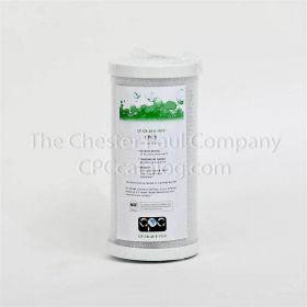 "CPC 4-1/2"" x 9-3/4"" Coconut Carbon Block Filter - 10 Micron"