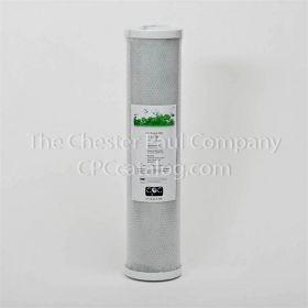"CPC 4-1/2"" x 20"" Coconut Carbon Block Filter - 1 Micron"