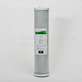 "CPC 4-1/2"" x 20"" Coconut Carbon Block Filter - 5 Micron"