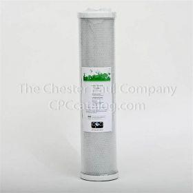 "CPC 4-1/2"" x 20"" Coconut Carbon Block Filter - 10 Micron"