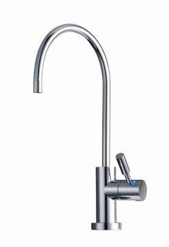 Likuan Designer Faucet Ceramic Non-Air-Gap w/ LED Light - Chrome