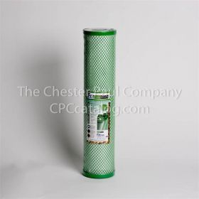 "Filtrex CL2 4.5"" x 20"" 10 Micron Green Block"