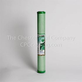 "Filtrex CL2 2.5"" x 20"" 10 Micron Green Block"