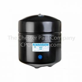 "PAE Economy RO Storage Tank - Black 4.4 Gallon Tank Volume, 1/4"" MPT"