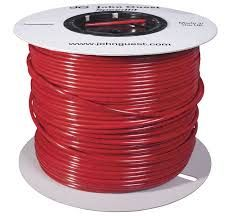 "John Guest LLDPE Tubing 1/4"" x 1000 FT - Red"