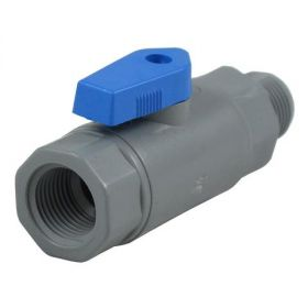 "Pentair (144357) PVC Ball Valve 3/8"" FNPT x 3/8"" NPT"