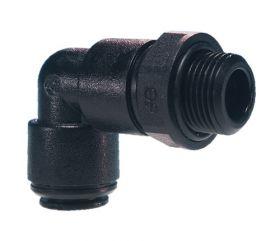Swivel Elbow 8mm x 1/8 Metric Acetal BSPP