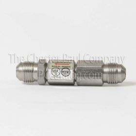 "Chudnow SS Double Check Valve - 3/8"" MPT"