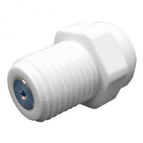 "SS Check Valve - 1/4"" Tube x 1/8"" MPT JG Straight"