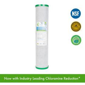 "MATRIKX - CHLORAGUARD Activated Carbon Block Filter for Chloramine, Chlorine, Taste, Odor and VOC Reduction 20"" x 4.5"""