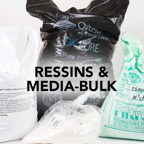 resins and media-bulk